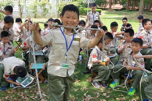 上海松江7天野外生存军事吃苦励志夏令营