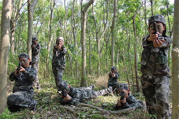 14天《预备役特种兵》军事夏令营(上海)