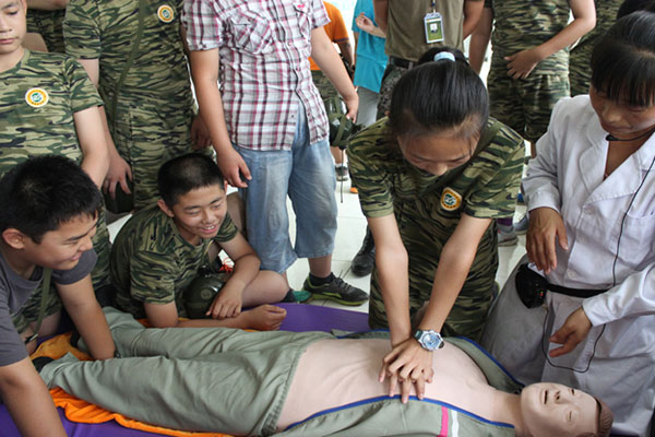 21天《预备役特种兵》军事夏令营(上海)