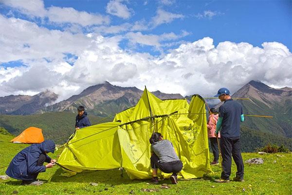 四姑娘山《英雄之路》雪山攀登夏令营9天