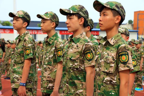 参加北京少年军校夏令营作文800字