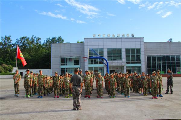 北京军事训练夏令营14天