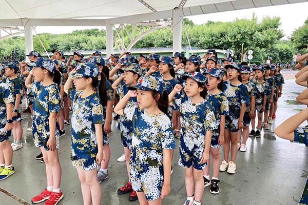 上海7天领导力军事体验营(枫华国际学校)