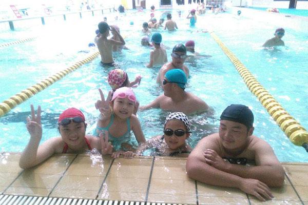 上海21天游泳夏令营