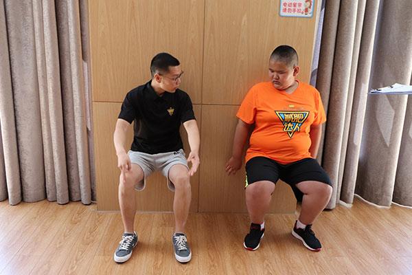 40天北京减肥训练营