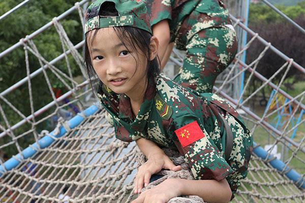 少年当自强之雏鹰成长军事训练营5天
