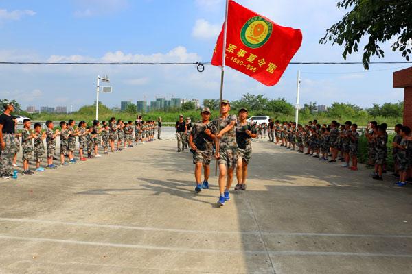 20天成都军事历练夏令营