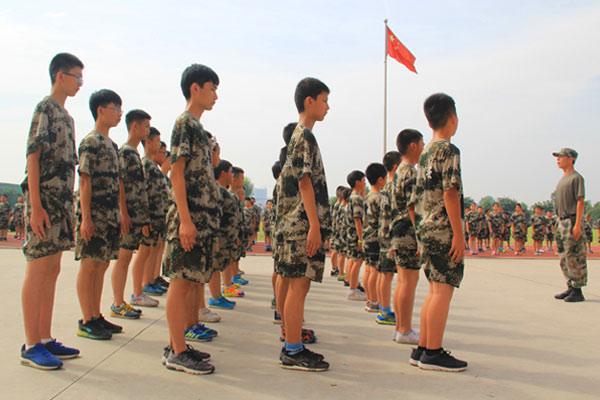 广州初中生军训夏令营日记一则