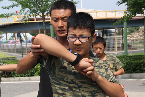 上海青少年军事夏令营,好习惯养成处
