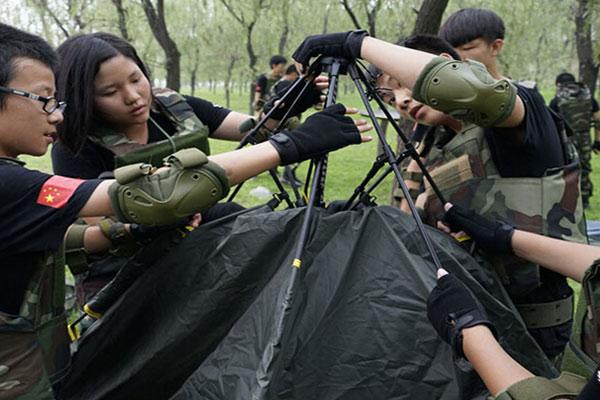 北京高中生军事夏令营,励志提升精英素质