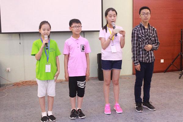 上海演讲与口才夏令营提高青少年自信心