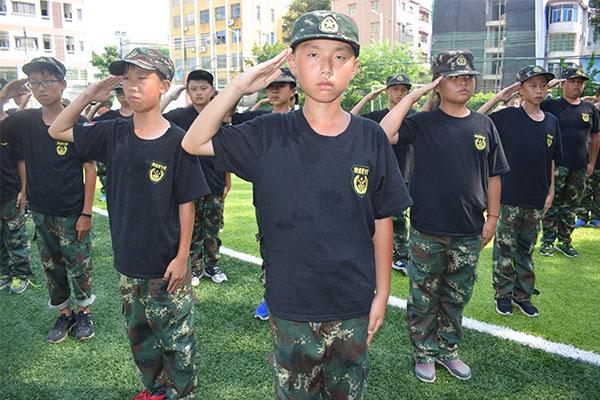 黄埔军校名将军事励志夏令营21天