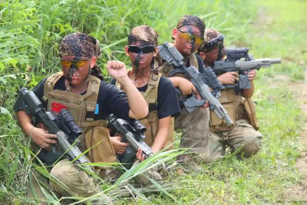 杭州28天我是特种兵军事夏令营