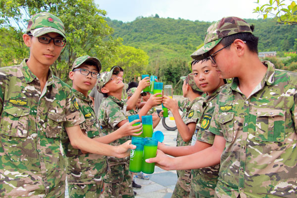 杭州青少年军营夏令营15天