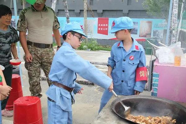 北京少儿军事化训练夏令营,模拟军校体验
