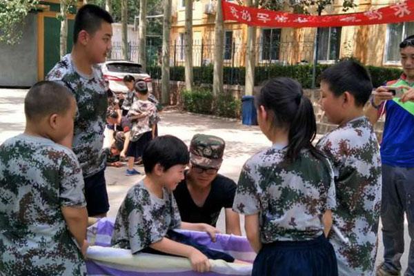 北京小学生夏季军事夏令营,招募小勇士!